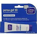 Clean & Clear Persa-Gel 10 Max Strength 1 Ounce (29ml) (2 Pack)