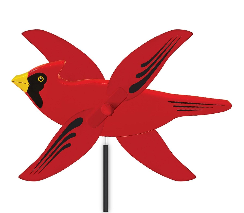 amazon com windnsun whirlygig outdoor animated decor cardinal