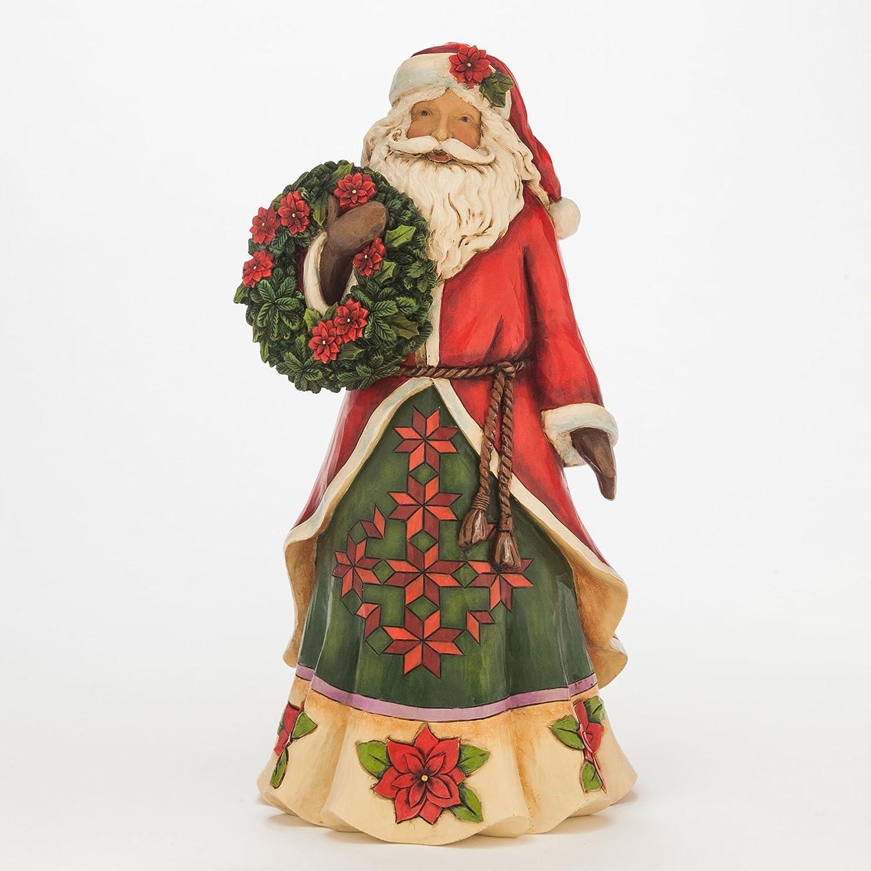 Santa claus figurines and ceramic collectibles