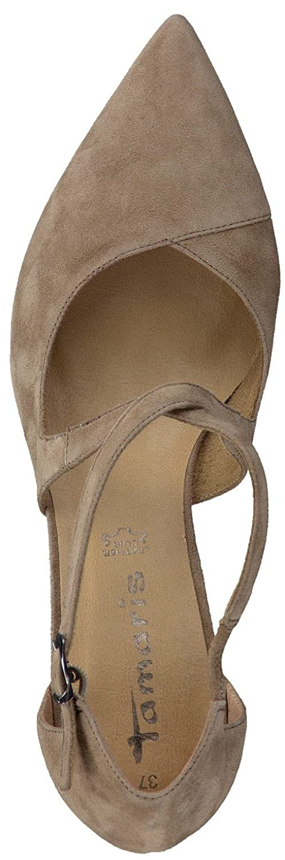 Tamaris Schuhe 1-1-24410-28 Bequeme Damen Slipper, Slip Slip Slip On, Halbschuhe, Sommerschuhe für modebewusste Frau, Nature 5881cd