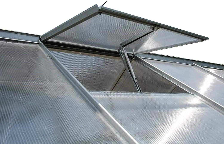 Fenster/öffner f/ür Gew/ächshaus Fensterheber durch Temperaturgesteuert und Solar Automatischen /Öffner f/ür Fast alle Gew/ächshaus Automatischen Fenster/öffner