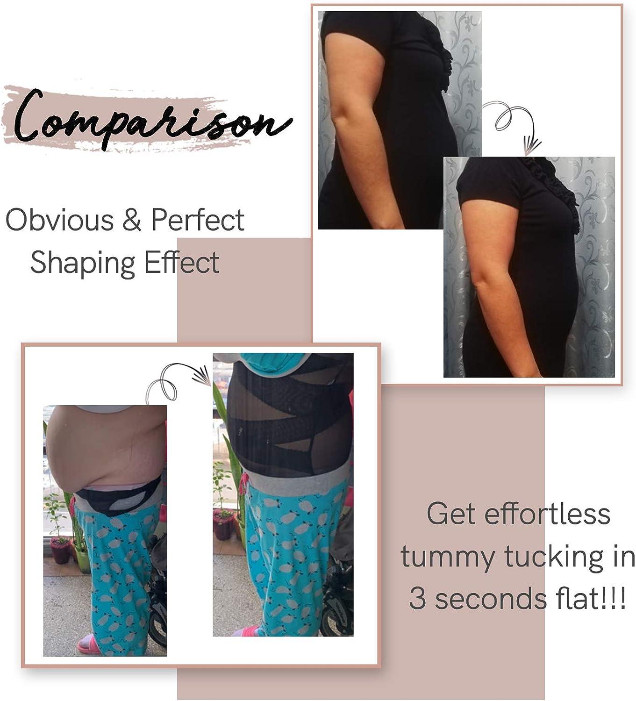 COMFREE Reductor Bodies Moldeadores Braguitas Moldeadoras Completas para Mujer Body Shaper Abdomen Adelgazante C/ómodo y Ligero