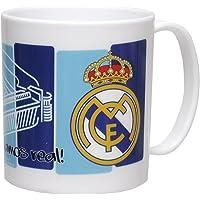 CYP Imports MG-03-RM Taza plástico 26 cl, diseño Real Madrid, Multicolor, 0