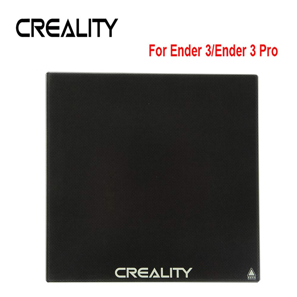 CCTREE Creality Upgraded 3D Printer Ultrabase Platform Heated Bed Build Surface Tempered Glass Plate for Creality Ender 3/Ender 3 Pro Ender 5 GEEETECH A10 3D Printer 235x235x4mm