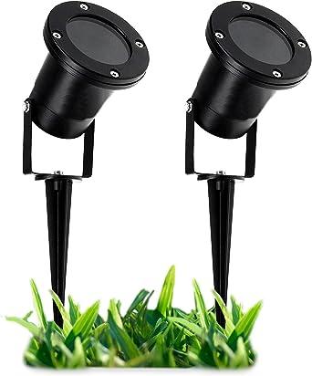 LED Gartenstrahler Außenstrahler 4W GU10 Aussen Wasserdicht Rasen Wegeleuchte