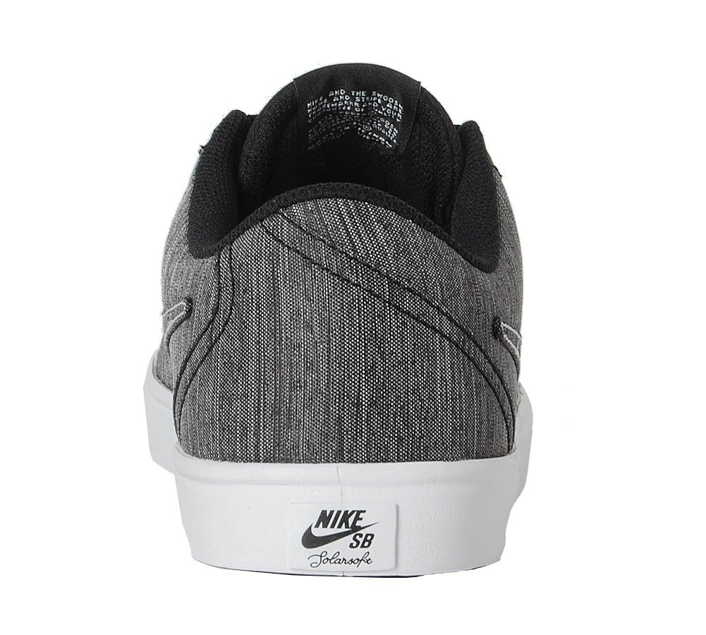 NIKE Men's Skateboarding SB Check Solarsoft Canvas Skateboarding Men's Shoe B075ZY4QMH 7|Black/Black-white ec73bf