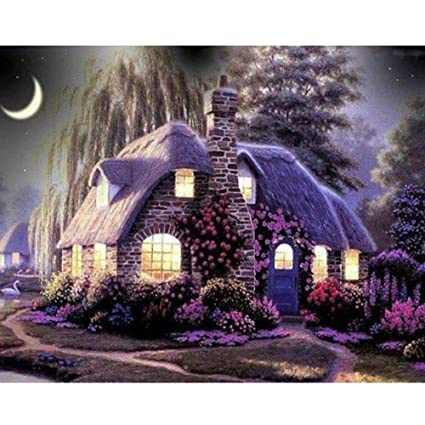 mosstars completa Diamante Pintura 5d embroi Embroidery Paintings imitación Sweet Home embroi Embroidery Painting Diamond Painting