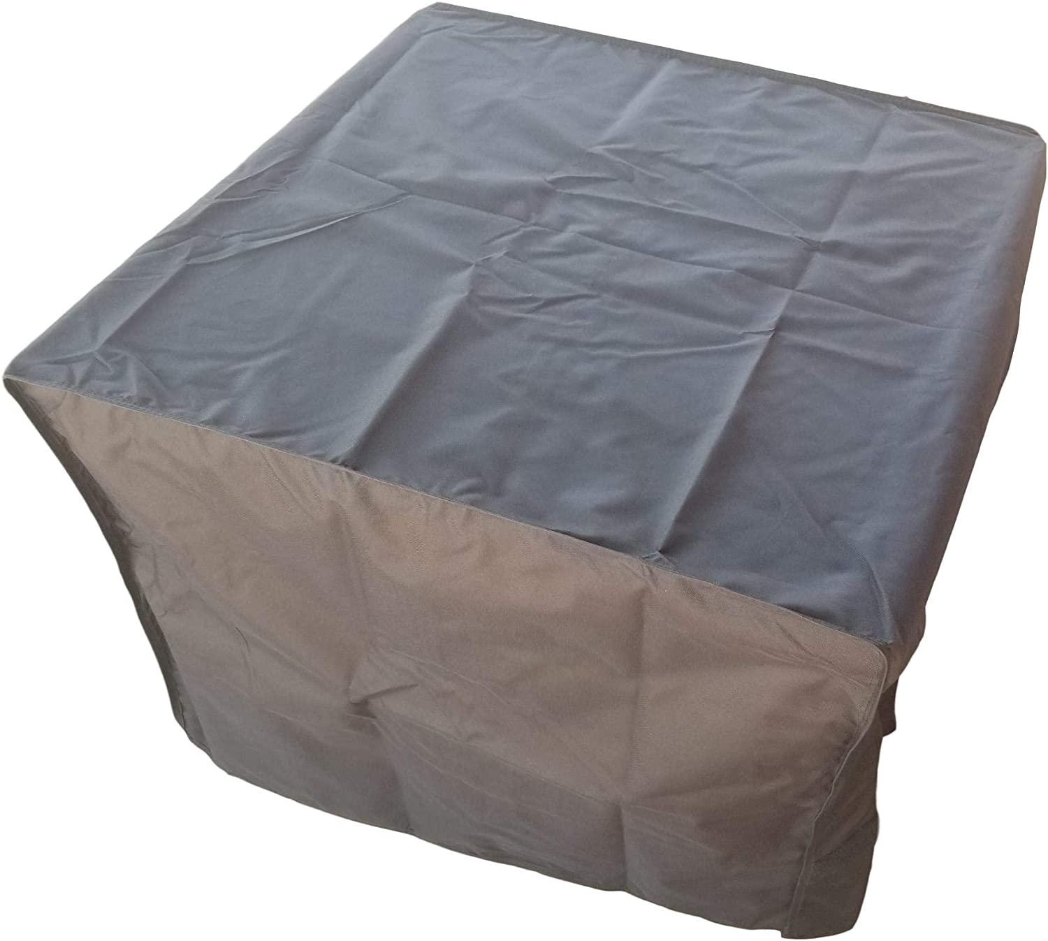 Amazon Com 33 Inch Square Cover For Outdoor Firepits Firetables And Outdoor Tables Garden Outdoor