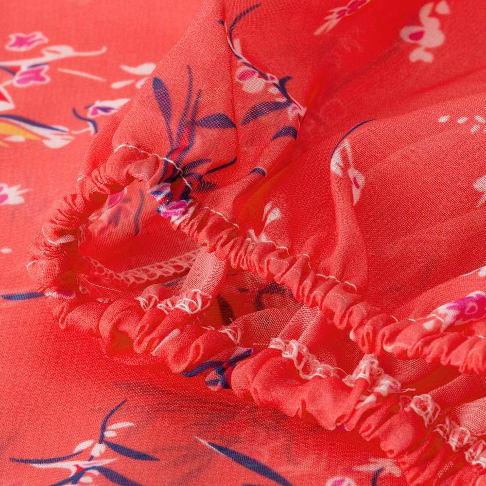 und Weisebreibein-Hosen-beil/äufige Hosen-Yoga-Hosen-Sport-Hosen Hei/ßer Verkauf Multi-Code Multi-Color S-5XL FeiBeauty Damen-b/öhmische nationale Art-Druck-lose Hosen-beil/äufige Art
