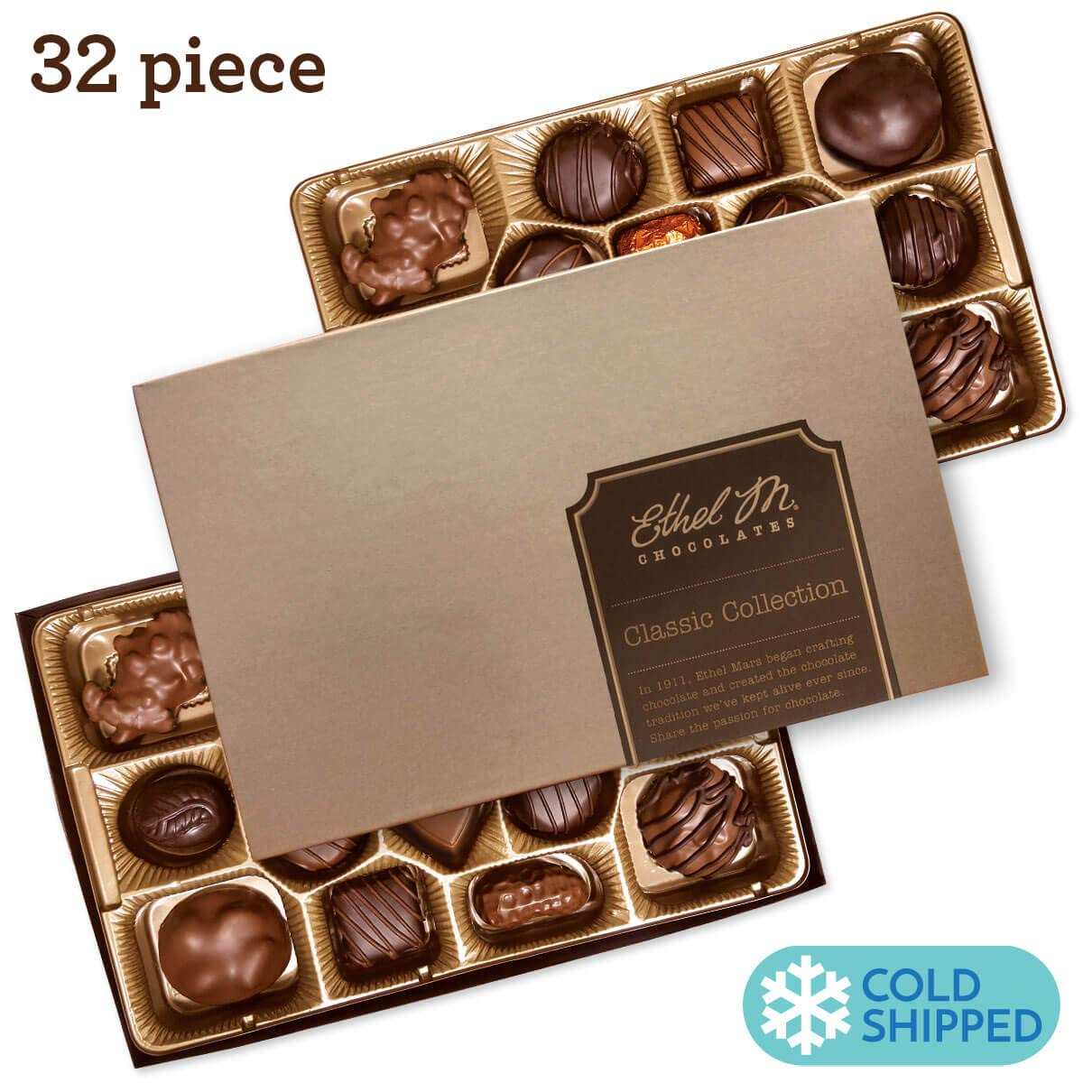 Ethel M Chocolates Classic Collection 32 piece by Ethel M. Chocolates