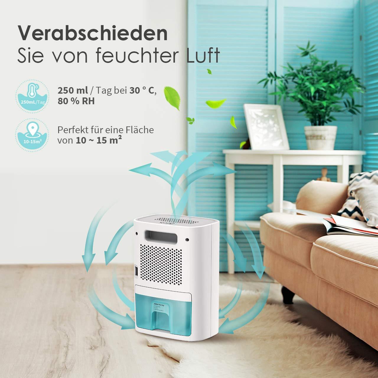 Luftentfeuchter Fuer Schlafzimmer Wohnung IKICH Luftentfeuchter