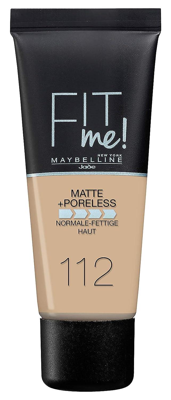Maybelline New York Fit Me. Matte & Poreless Foundation No. 112Soft Beige 30ml B31971