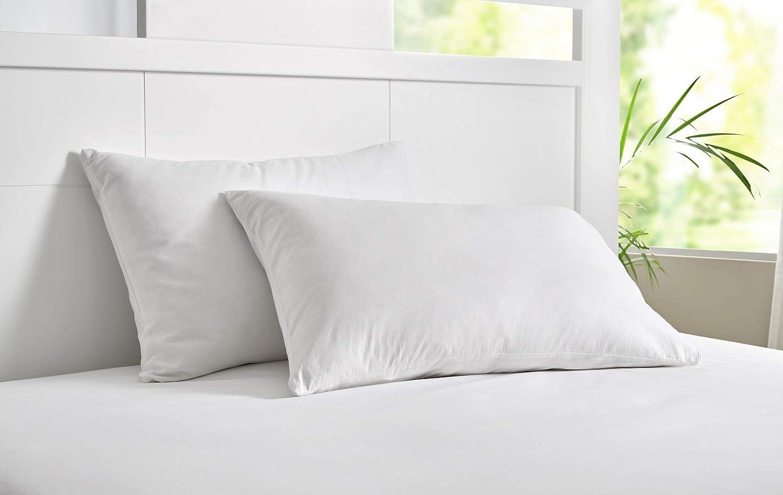 Pikolin Home Taie doreiller Respirante Anti-acariens 70 x 40cm Blanc