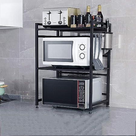 ZZHF yushizhiwujia Estantes de la cocina / Retráctil / Acero ...