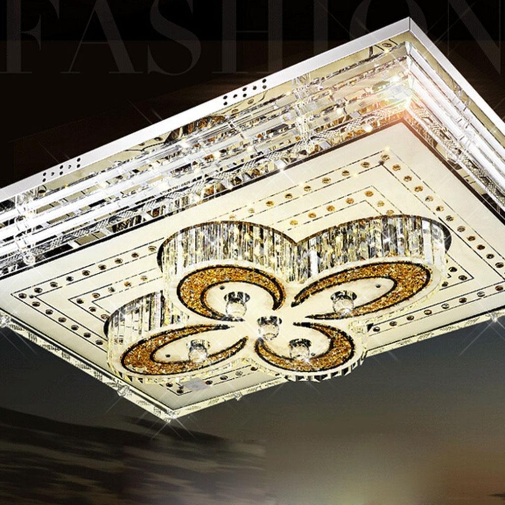 Europäische und amerikanische Kristallglas LED-Badezimmer Schlafzimmer Wohnzimmer Balkon Flur Küche warm und ungezwungene Atmosphäre des Restaurants Deckenleuchten schlank