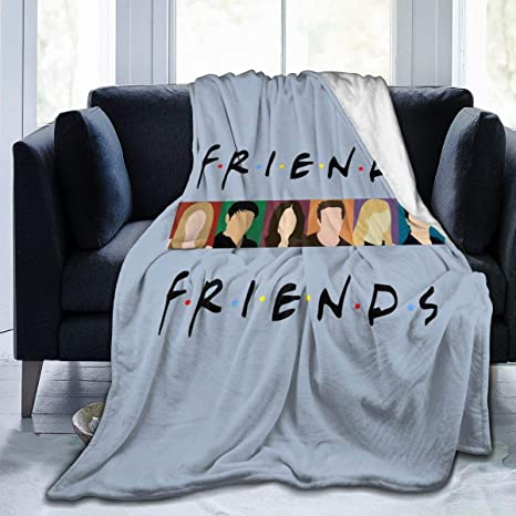 """Amazon.com: Dominic Art Friends Tv-4 Sofa Blanket, Lightweight Travel Blanket, Cozy Plush Keep Warm Throws Blankets For Baby/Kids/Youth/Adult Small (50""""X40""""): Home & Kitchen"""