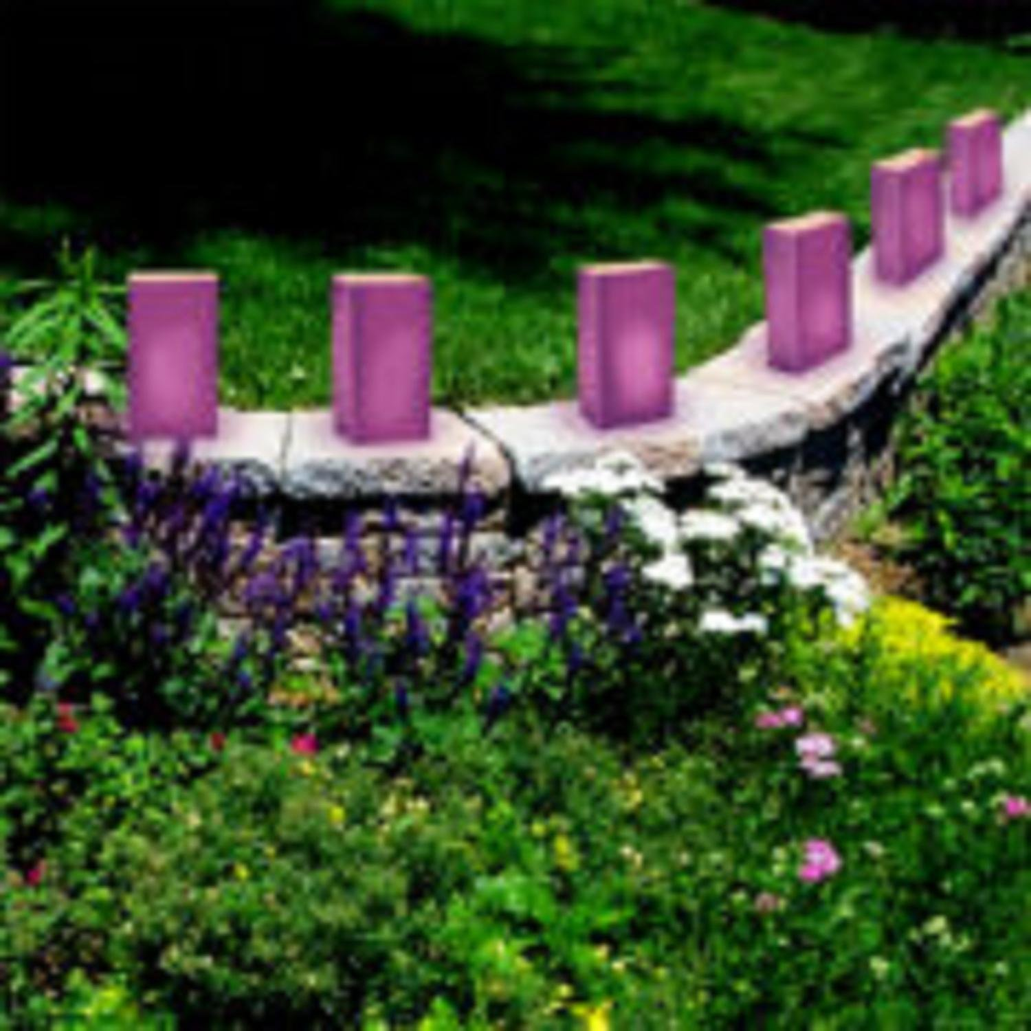 CC Home Furnishings Pack of 100 Traditional Purple Relay for Life Luminaria Bags 11'' by CC Home Furnishings (Image #2)