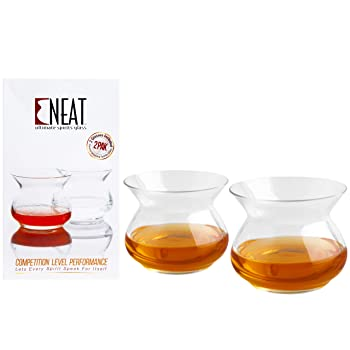 Neat Glass Official Whiskey Glasses