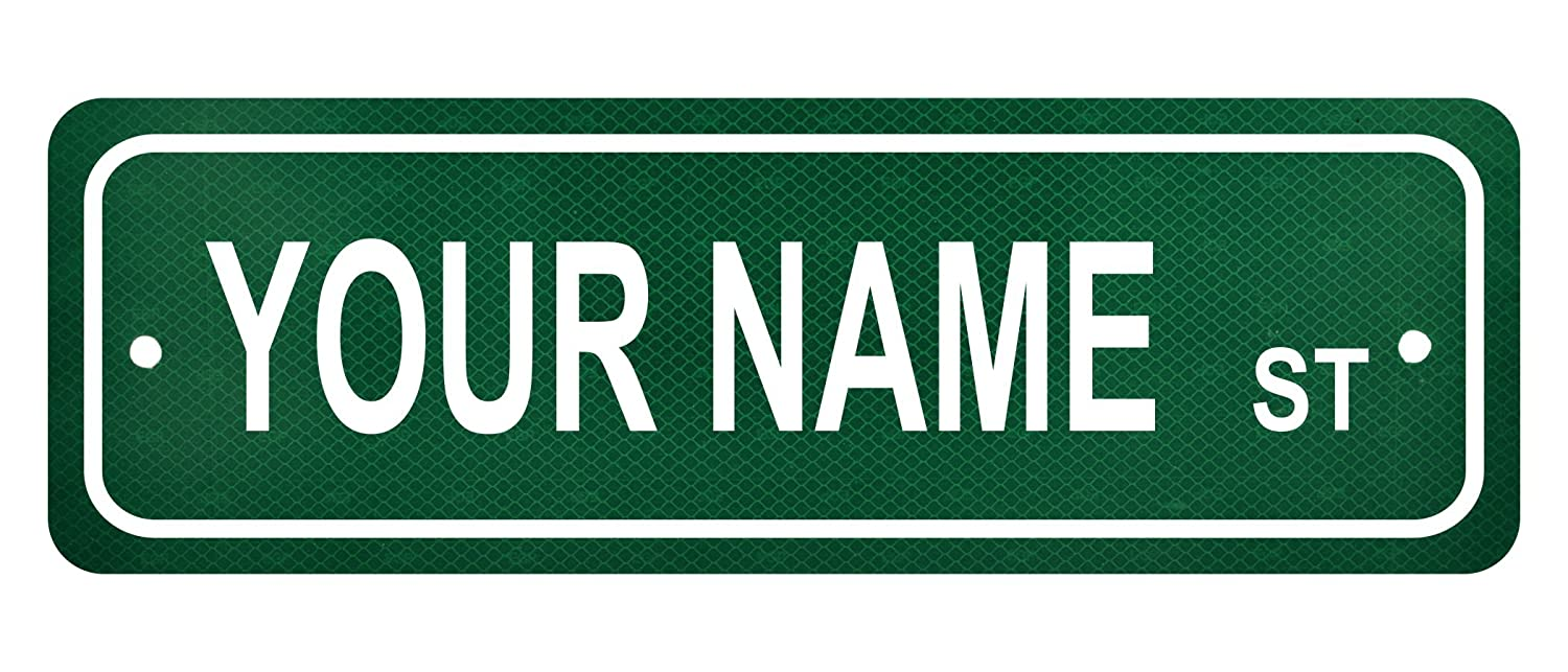 Personalized Street Signs >> Personalized Custom Name Street Sign 6 X 18 Authentic Reflective Aluminum