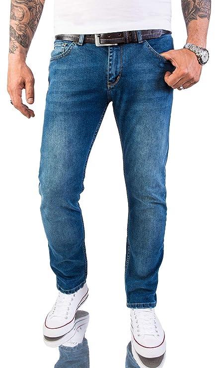 Rock Creek Designer Herren Jeans Hose Regular Slim Stretch Jeans M46 W29 W40