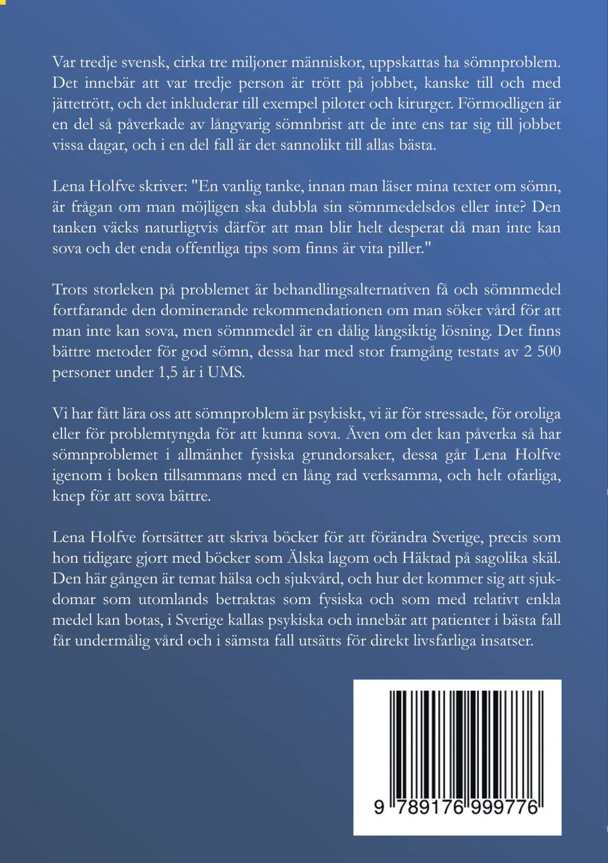 Sömnlös Swedish Edition Lena Holfve 9789176999776 Amazoncom Books