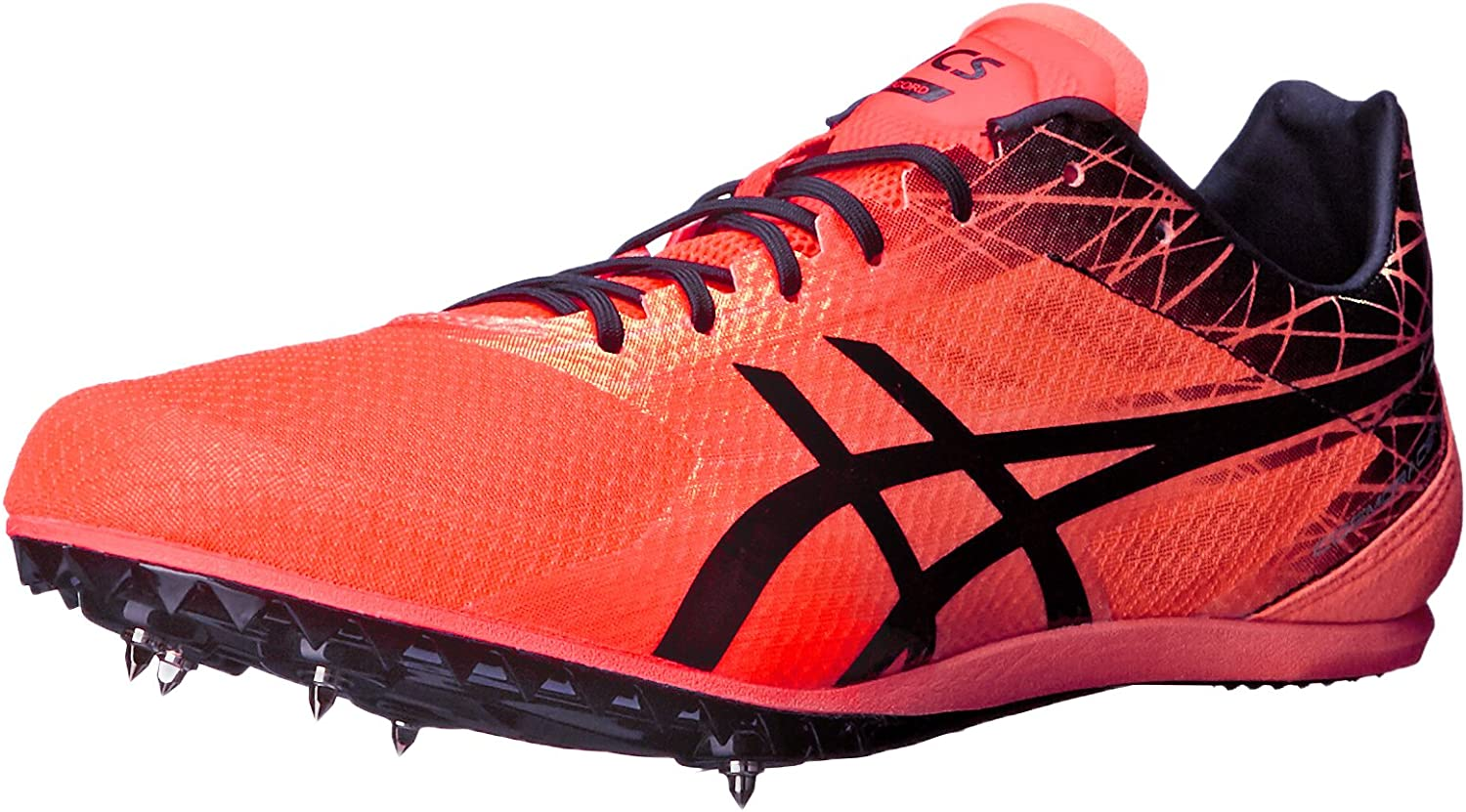 empleo Sotavento filosofía  ASICS Men's Cosmoracer Md Track Shoe, Flash Coral/Black, 12.5 M US:  Amazon.ca: Shoes & Handbags