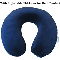 Travelmate Memory Foam Neck Pillow, Dark Blue