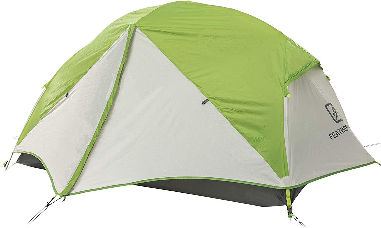 Featherstone 2 Person Backpacking Tent Lightweight for 3-Season Outdoor Camping, Hiking, and Biking - Includes Footprint, Waterproof, Packs Light and Compact