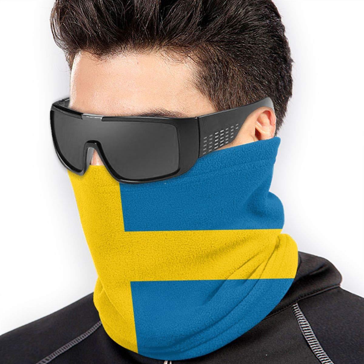 mittlere Schicht Laufen Schweden-Flagge f/ür Wandern FunnyStar Superweiche Thermo-Halsw/ärmer f/ür den Winter Motorradfahrer