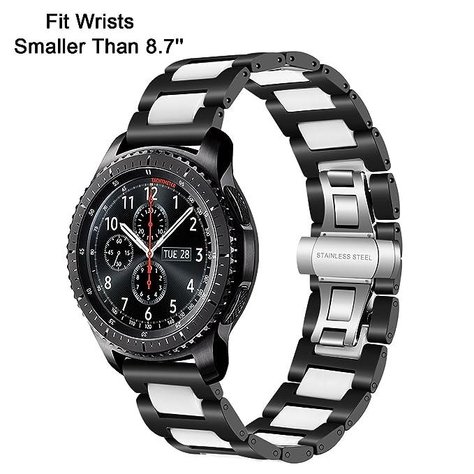 Gear S3 Frontier/Classic Watch Correa, TRUMiRR 22mm correa de ...