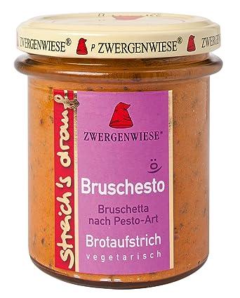 Zwergenwiese Bio Bruschetta-Pesto- para untar