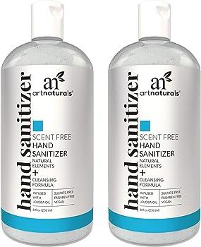 2-Pack Artnaturals Alcohol Based Hand Sanitizer Gel