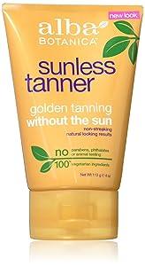 Alba Botanica Sunless Tanning Lotion