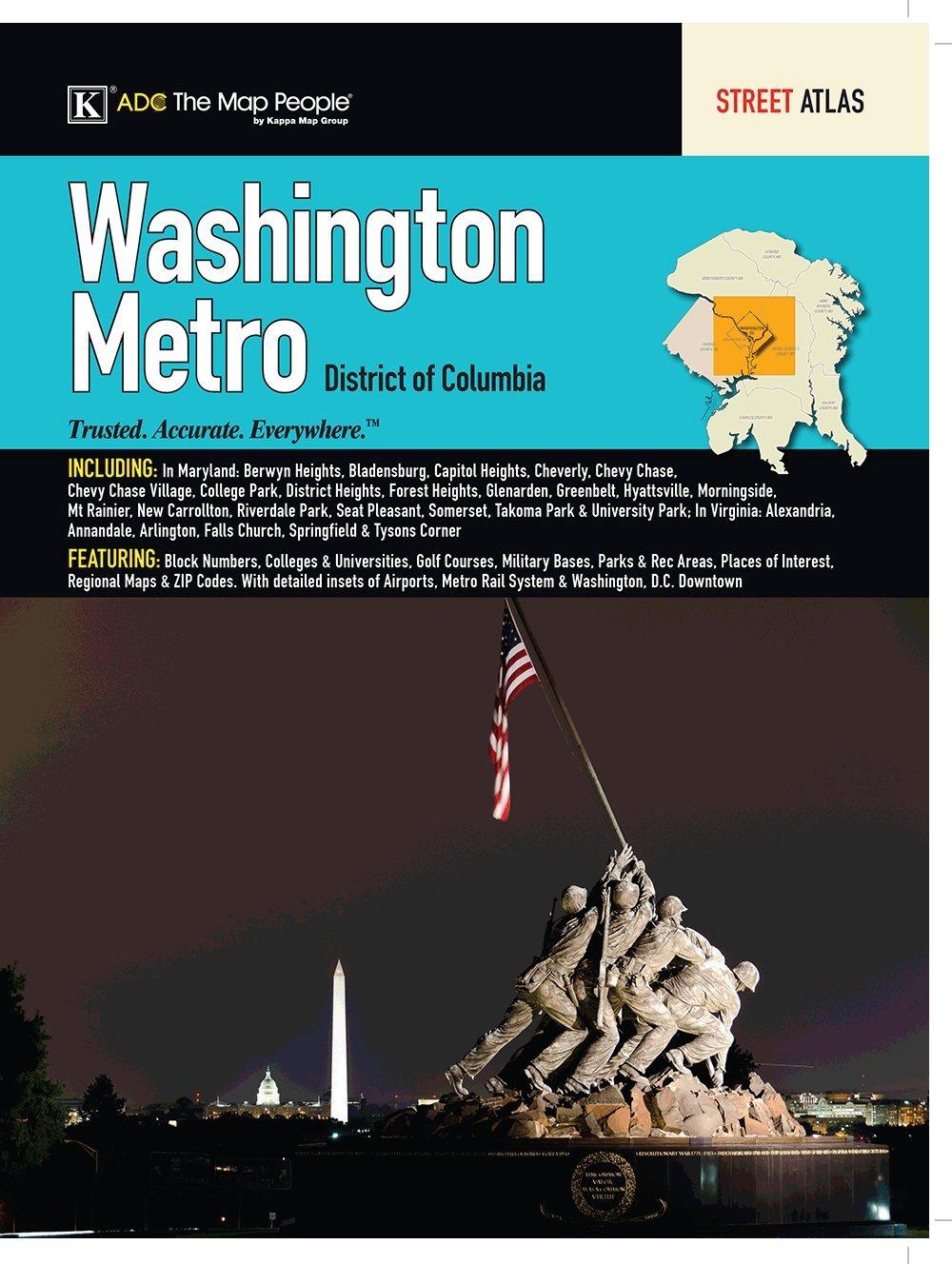 Washington DC Metro Street Atlas product image