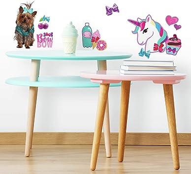 Jojo Siwa Unicorn Dream Peel And Stick Giant Wall Decals Girl/'s Bedroom Decors