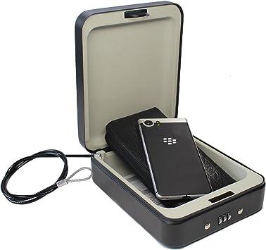 SEPOX Caja de Seguridad para Coche con combinación de Seguridad ...