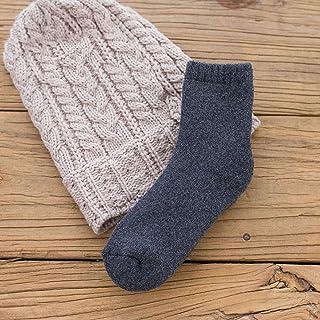 hhsmdaChaussettes d'hiver épaisses Chaussettes en Tube de Terry Chaussettes épaisses Chaussettes à la Mode(5 Paires)