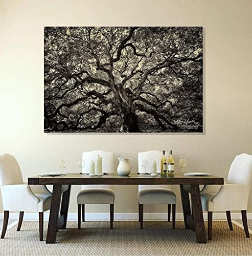 e6f240bd54 Angel Oak Tree, Charleston SC, Fine Art CANVAS or METAL, Ready-to-Hang,  Sepia Fine Art Photography, Small to Extra Large Wall Decor, 7x5 to 72x48  inches