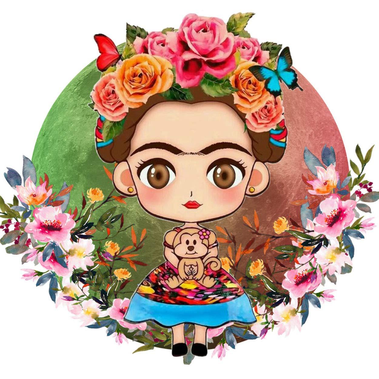 Amazon.com: Argonv Frida Kahlo - Parche termoadhesivo ...