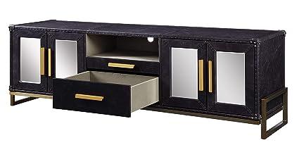 buy popular aea41 44b9a Amazon.com: Benjara BM196709 Spacious Leatherette ...