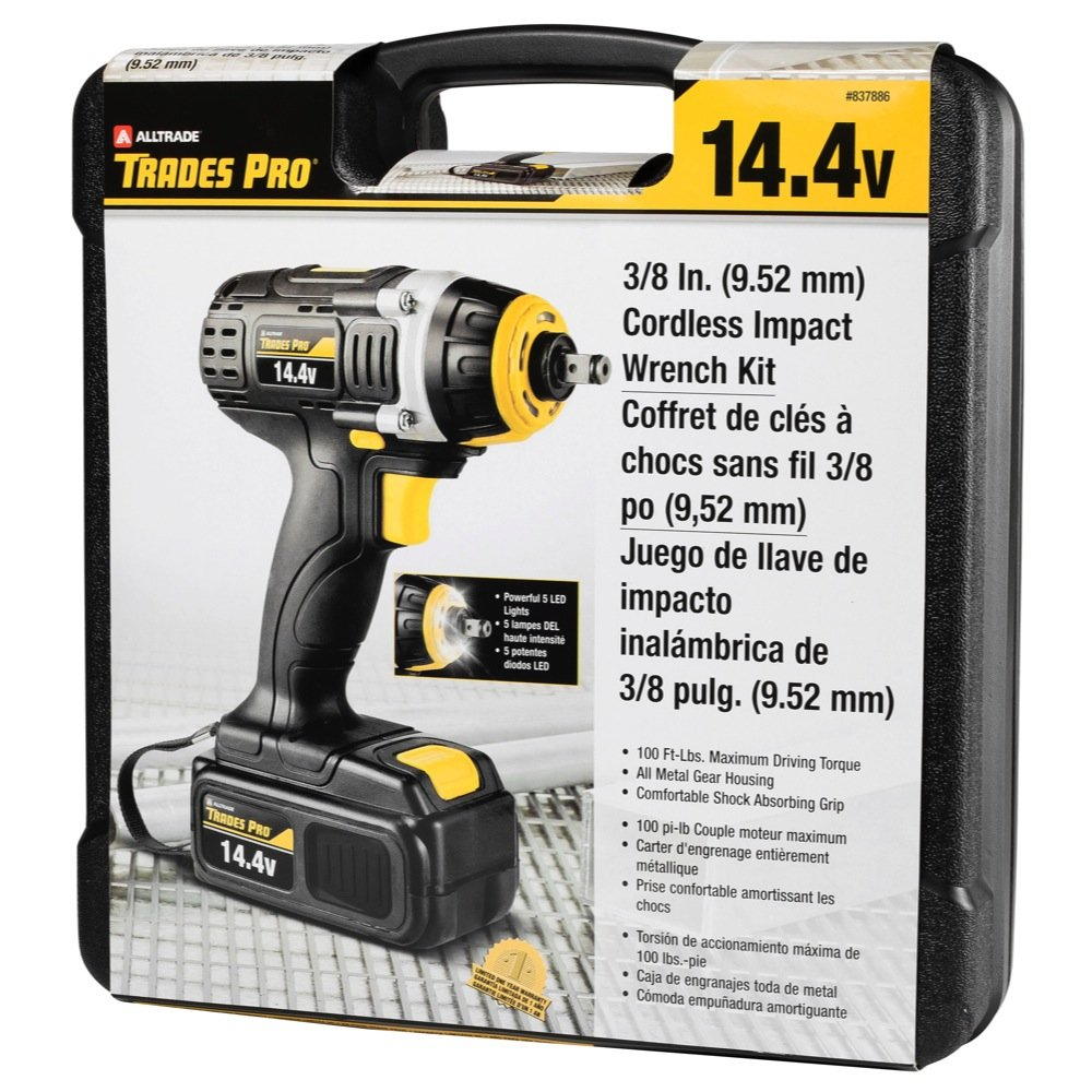 Amazon.com: Tradespro Trades Pro 837590 18 Volt Cordless Drill Kit: Home Improvement