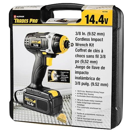 Amazon.com: Tradespro Trades Pro 837590 18 Volt Cordless Drill Kit: Home Improvement