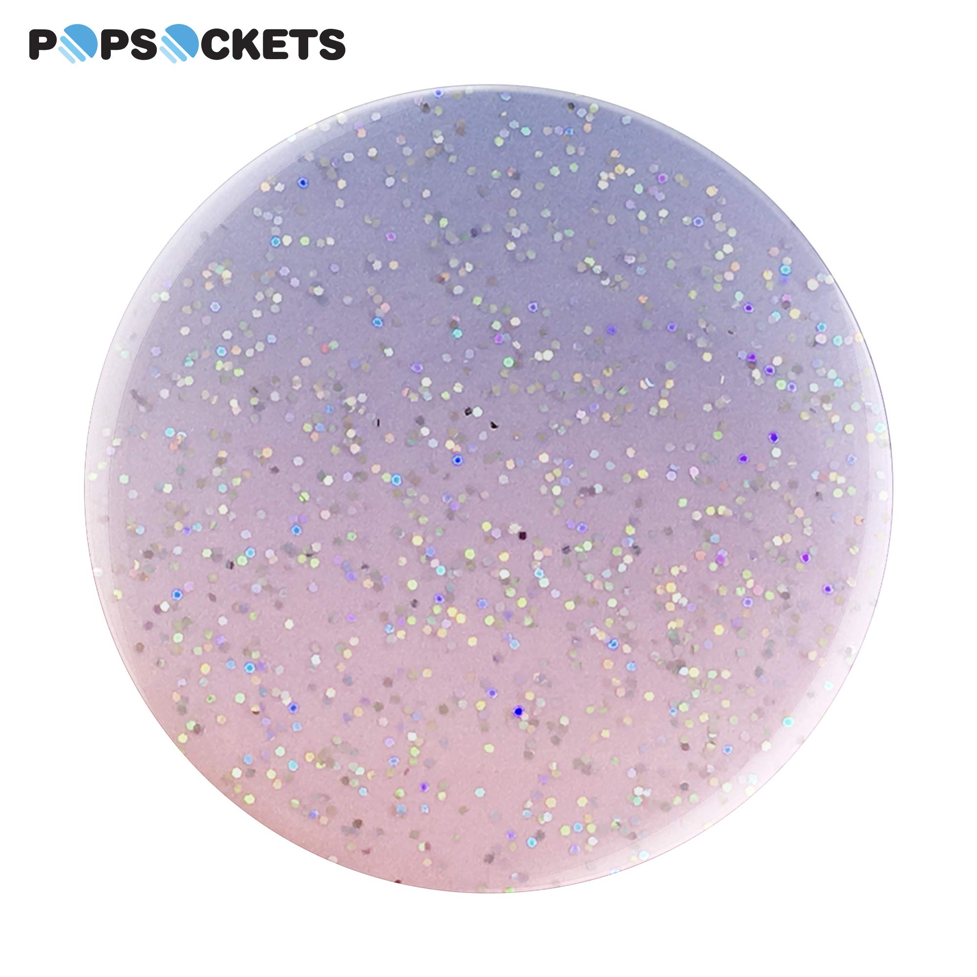 PopSockets: Collapsible Grip & Stand for Phones and Tablets - Glitter Morning Haze by PopSockets