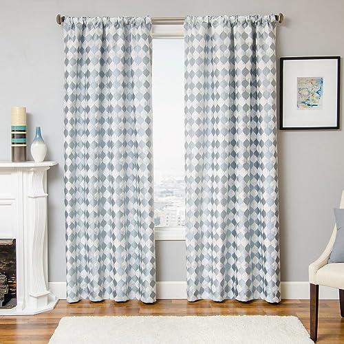 Softline Prom-Rod Pocket Woven Window Panel / Curtain / Drape / Treatment