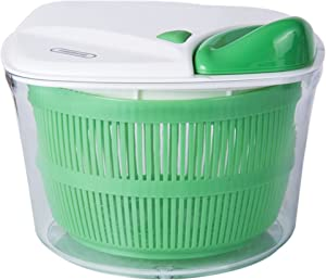 Farberware Professional Salad Spinner with Stopper, One Size, Green
