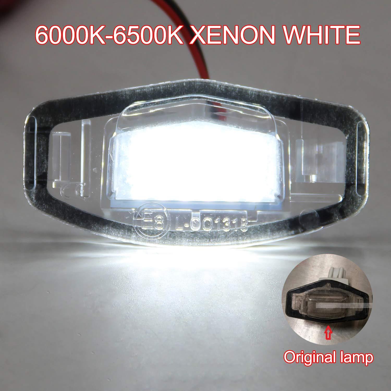 2 Glühbirnen LED Für Beleuchtung Nummernschild Mercedes SLK