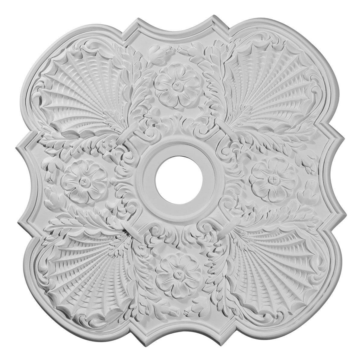 Ekena Millwork CM29FW 29-Inch OD x 3 5/8-Inch ID x 1 3/8-Inch P Flower Ceiling Medallion by Ekena Millwork