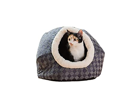 Amazon.com: Armarkat - Cama para gato, color azul: Mascotas