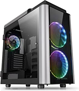 Thermaltake Level 20 GT RGB Plus E-ATX Full Tower Rotational Expansion Slot Type-C Modular Gaming Computer Case CA-1K9-00F1WN-01