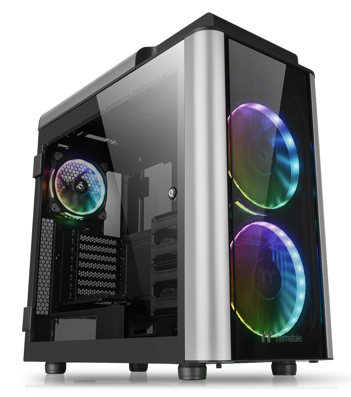 6404a76a3a0 Thermaltake Level 20 GT RGB Plus E-ATX Full Tower Rotational Expansion Slot  Type-C Modular Gaming Computer Case CA-1K9-00F1WN-01: Amazon.ca: Computers  & ...
